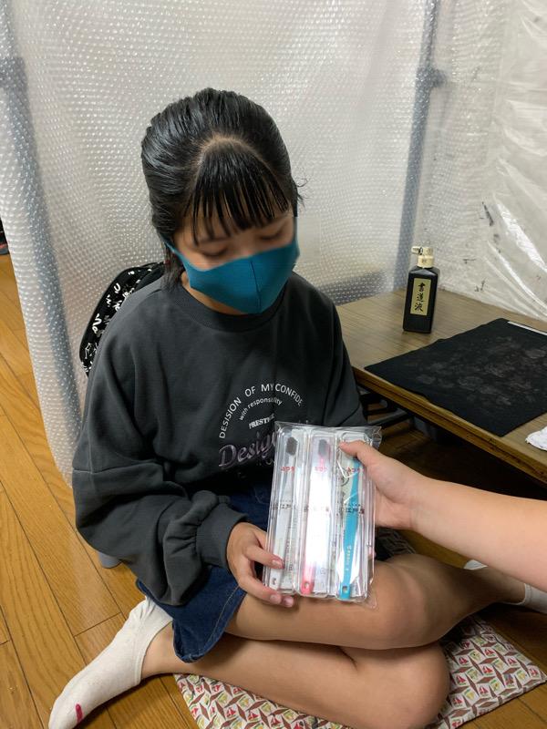 美聖ちゃんが江戸屋賞を受賞しました