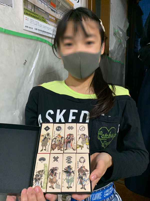 """菜羽ちゃんが""""忠臣蔵新正堂賞""""を受賞しました"""