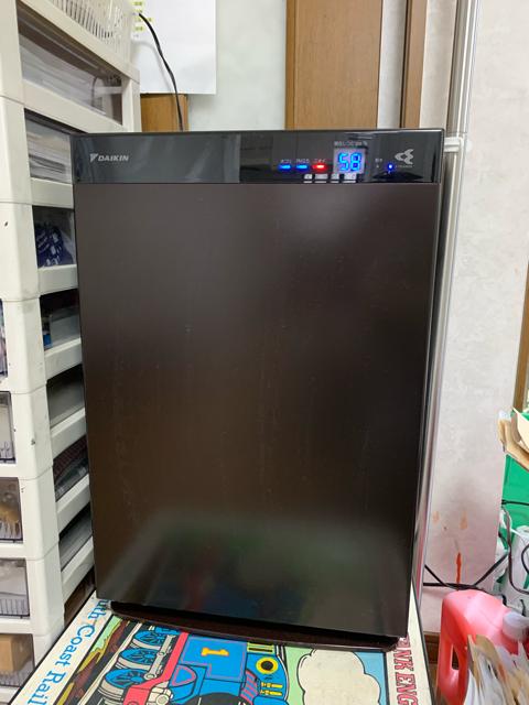 UVストリーマ空気清浄機30畳用を設置致しました!
