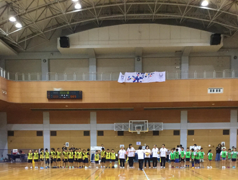 西東京市 ドッチボール大会の応援に行ってきました