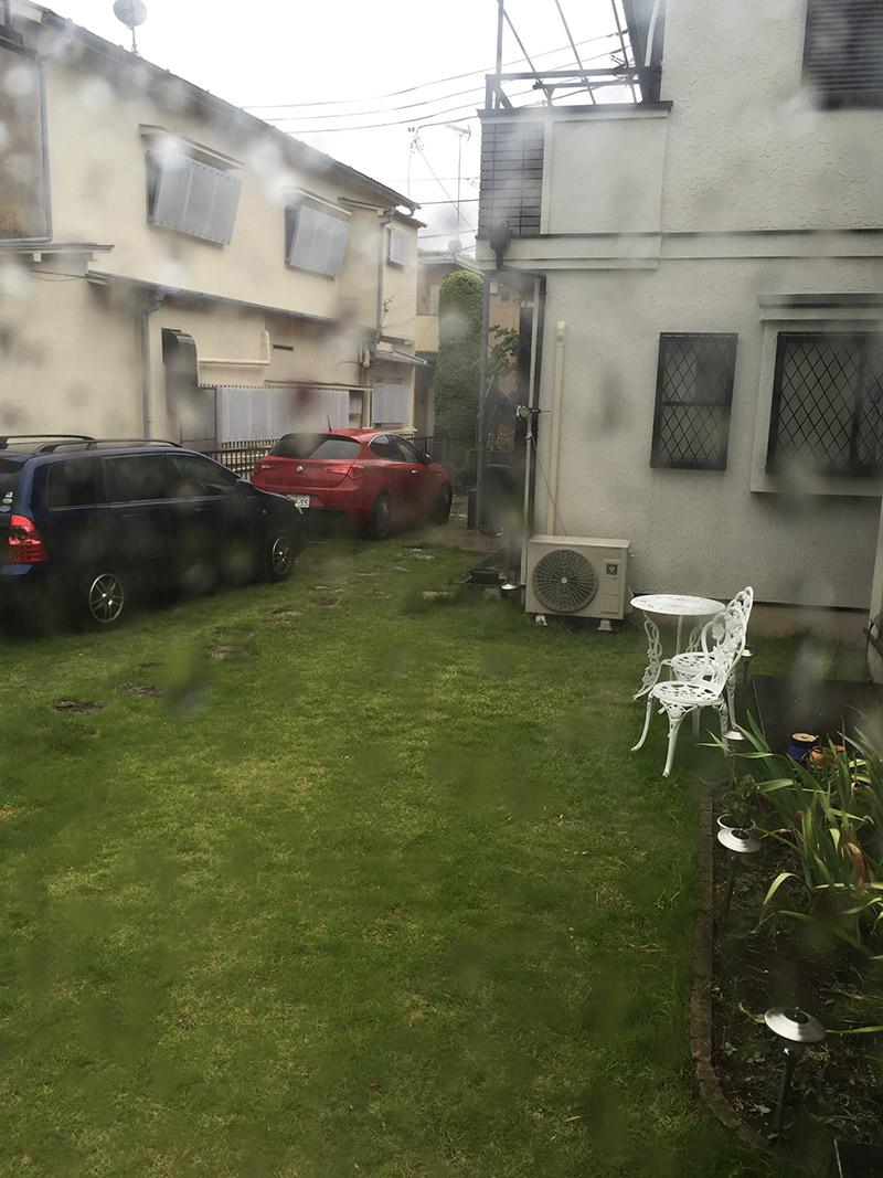 台風の日のお稽古