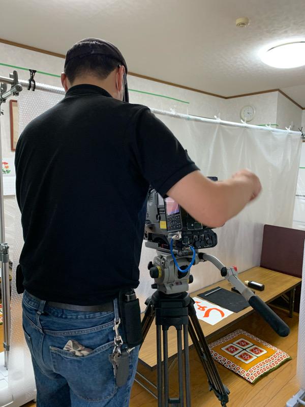 ニュースエブリィで教室の様子が放映されました