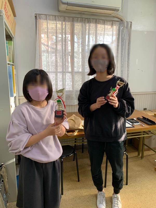 東久留米校の生徒も受賞!