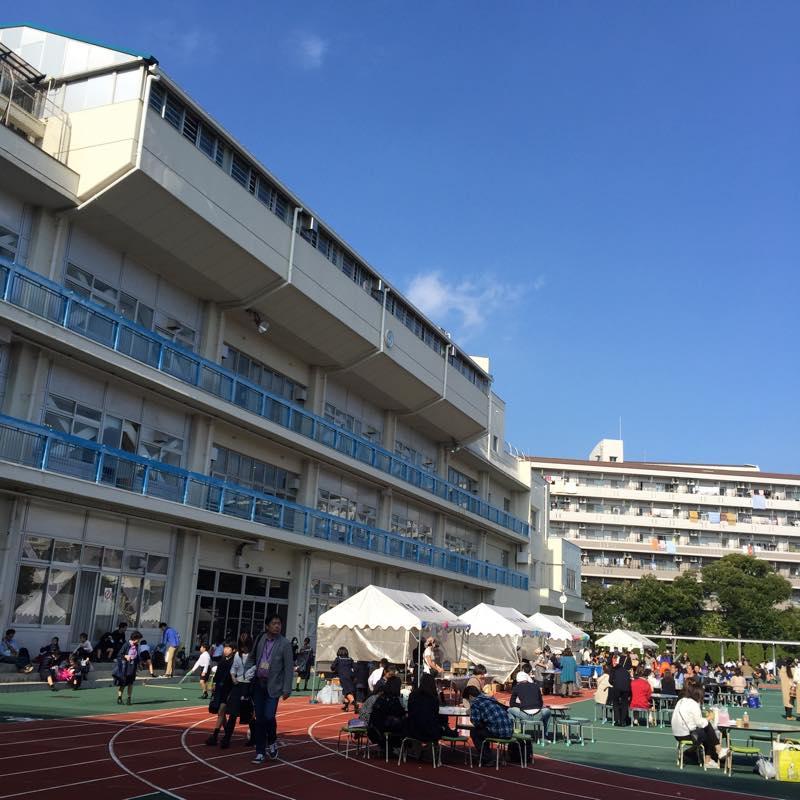 生徒の通う武蔵野東小学校の学園祭に行ってきました