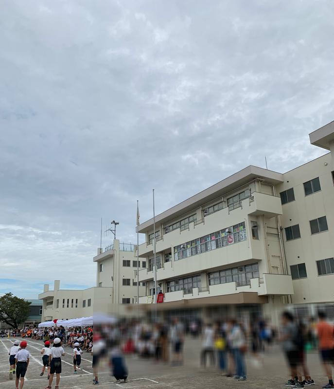 第三小学校と神宝小学校の運動会に行ってきました