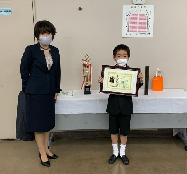 武蔵野市教育委員会児童生徒表彰式に行ってきました
