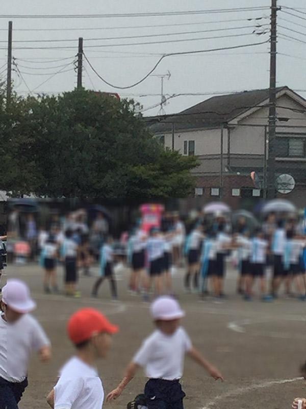 東久留米第三小学校の運動会に行って来ました